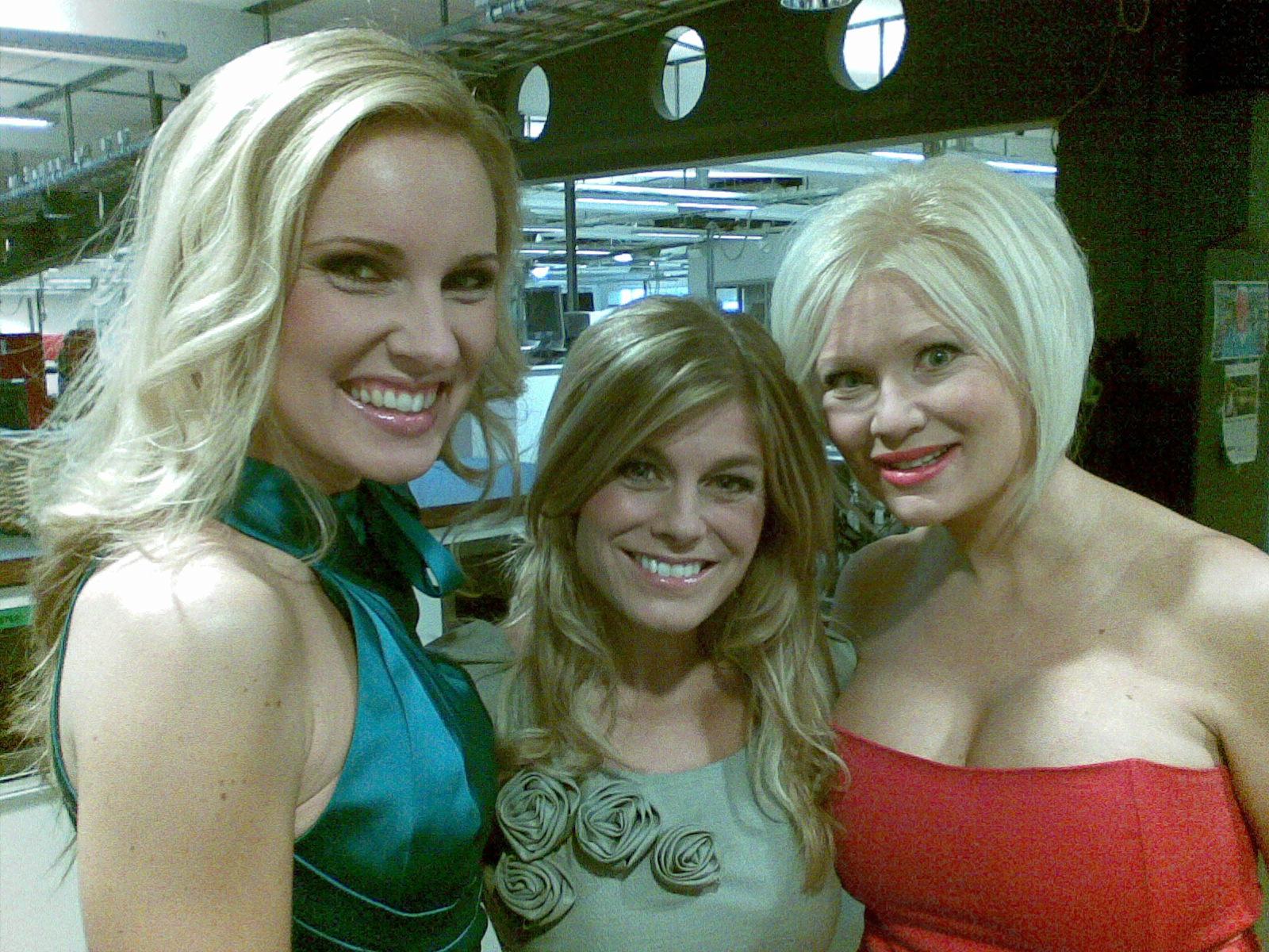 Hannah, Pernilla och Linda
