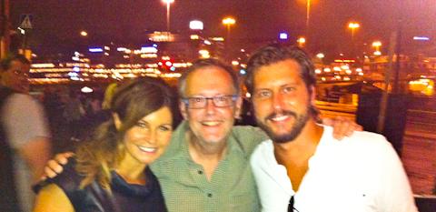 Carola, Per-Erik och jag